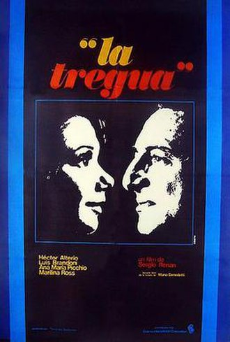 The Truce (1974 film) - Theatrical release poster