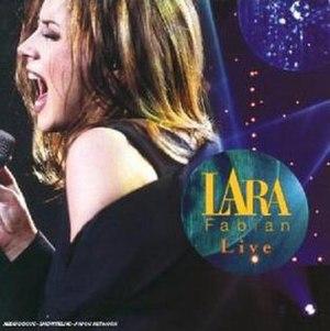 Live (Lara Fabian album) - Image: Lara Fabian Live 1999 CD Cover