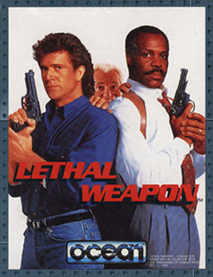 Lethal Weapon (video game) - Cover art