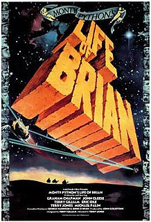 <i>Monty Pythons Life of Brian</i> 1979 film by Terry Jones