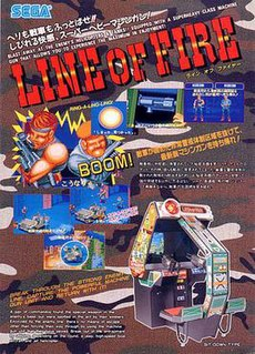 <i>Line of Fire</i> (video game) 1989 video game