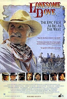 <i>Lonesome Dove</i> (miniseries) 1989 television miniseries directed by Simon Wincer