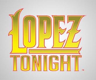Lopez Tonight - Image: Lopez tonight logo