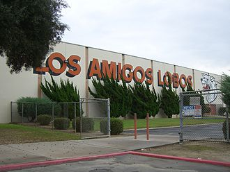 Los Amigos High School - Los Amigos High School Gymnasium
