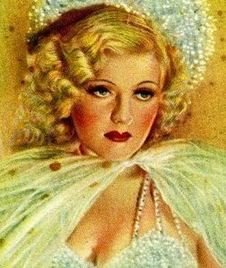 Louise Henry (actress) - On a German cigarette card, c. 1935