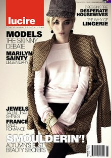 Lucire (magazine) February 2007 cover.jpg