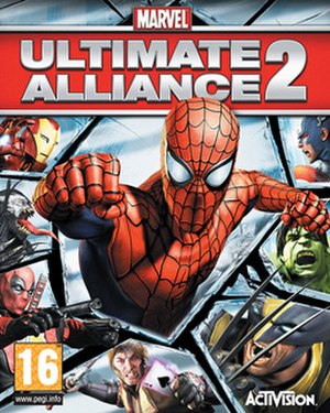 Marvel: Ultimate Alliance 2 - Image: Marvel Ultimate Alliance 2