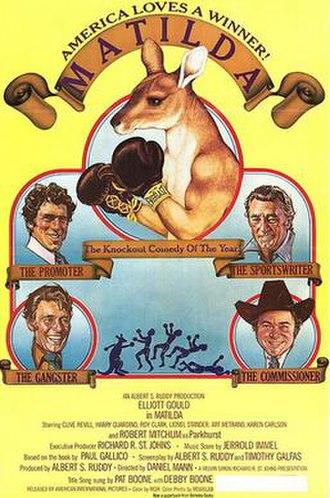 Matilda (1978 film) - Theatrical Release Poster