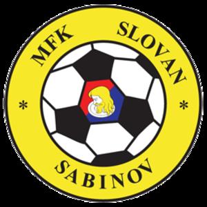MFK Slovan Sabinov - Image: Mfk slovan sabinov