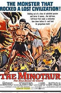 <i>Minotaur, the Wild Beast of Crete</i> 1960 film directed by Silvio Amadio