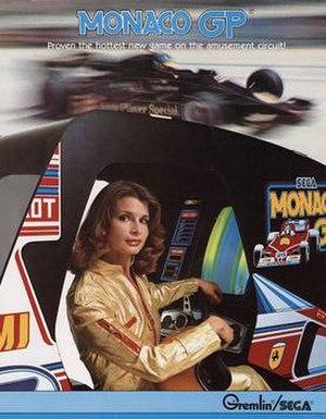 Monaco GP (video game) - Image: Monaco gp flyer