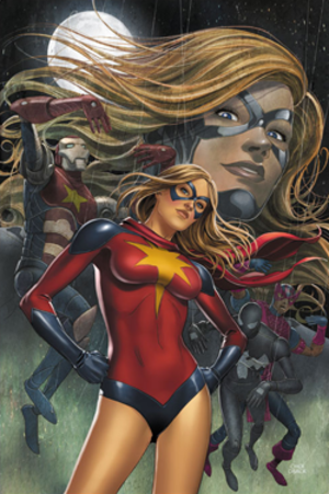 Moonstone (comics) - Image: Moonstone Ms Marvel