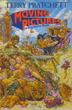 Moving Pictures (novel) - Image: Moving pictures cover