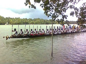 Munroe Island - Boat race in Munroe Island