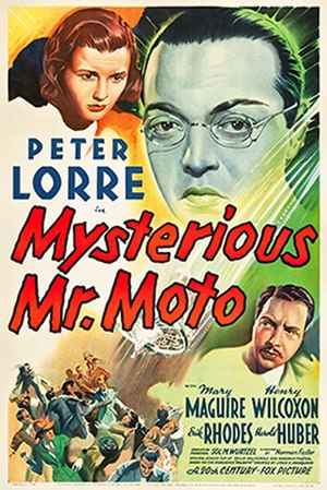 Mysterious Mr. Moto - Theatrical release poster