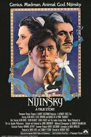 Nijinsky (film) - Theater poster