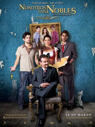 The Noble Family - Image: Nosotros los Nobles poster