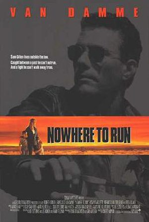 Nowhere to Run (1993 film) - Theatrical release poster