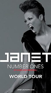 Number Ones, Up Close and Personal Sixth concert tour by Janet Jackson