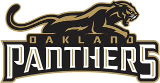 Oakland Panthers Arena football team in Oakland, California