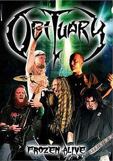 <i>Frozen Alive</i> 2007 live album by Obituary