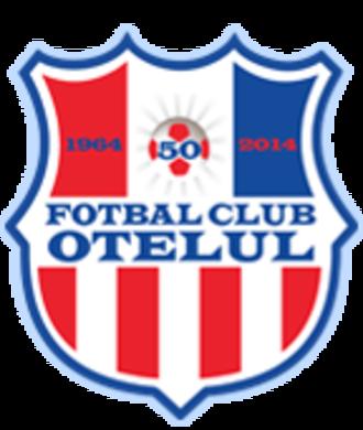 ASC Oțelul Galați - 50th anniversary logo.