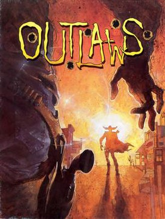 Outlaws (1997 video game) - Cover art