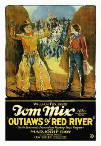 Outlaws of Red River - Theatrical release poster