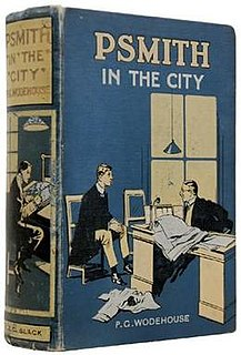 <i>Psmith in the City</i> 1910 novel by P.G. Wodehouse