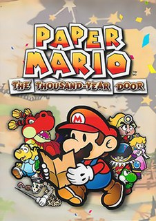 <i>Paper Mario: The Thousand-Year Door</i> 2004 video game