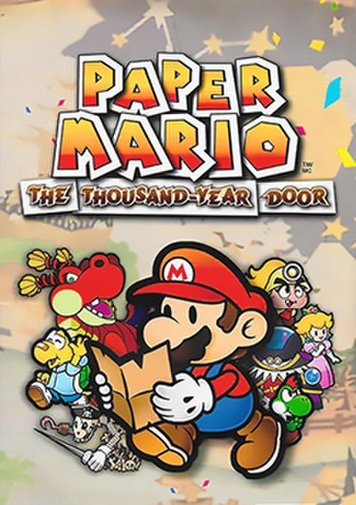 Picture of a game: Paper Mario: The Thousand-Year Door