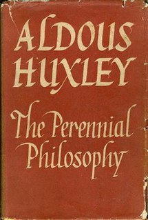 <i>The Perennial Philosophy</i> book by Aldous Huxley
