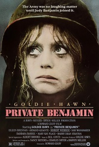 Private Benjamin (1980 film) - Theatrical release poster