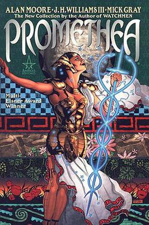 Promethea - Promethea Volume 1 TPB, copyright DC Comics