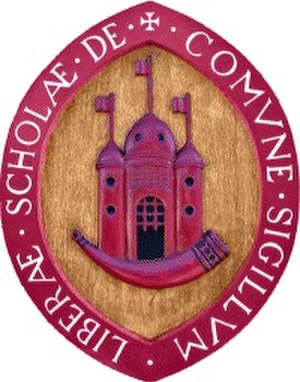 Queen Elizabeth's Grammar School, Horncastle - Image: QEG Sbadgelogo
