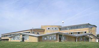 Queens Park Community School - Side view of school