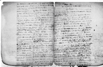 History of Rome (Mommsen) - A notebook used by Theodore Mommsen for his Römische Geschichte or History of Rome.