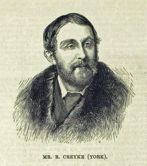 Ralph Creyke - Creyke in 1880