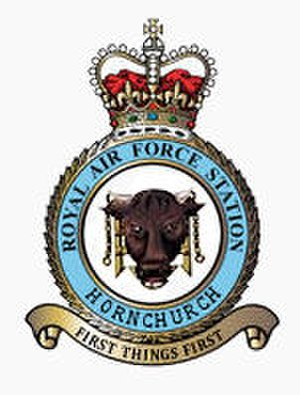 RAF Hornchurch - Station Crest