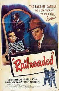 <i>Railroaded!</i> 1947 film by Anthony Mann