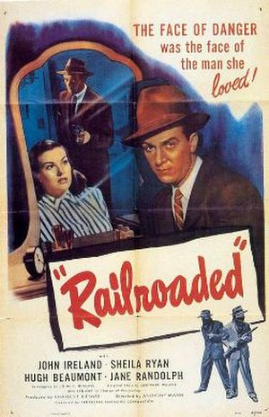 Railroaded! - Theatrical release poster