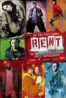 <i>Rent</i> (film) 2005 film by Chris Columbus