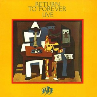 Live (Return to Forever album) - Image: Return To Forever Live 1LP