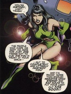 Reverse-Flash - Reverse-Flash in Tangent Comics