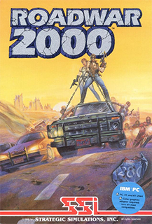 <i>Roadwar 2000</i> 1986 video game