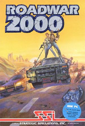 Roadwar 2000 - Image: Roadwar 2000 Coverart