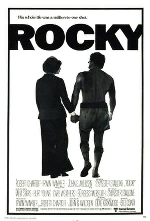 Rocky - Theatrical release poster