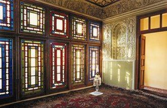 Báb - The room where the Declaration of the Báb took place on the evening of 22 May 1844, in his house in Shiraz.