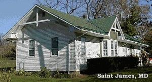 Shenandoah Valley Railroad (1867–90) - Now: Saint James MD 2004