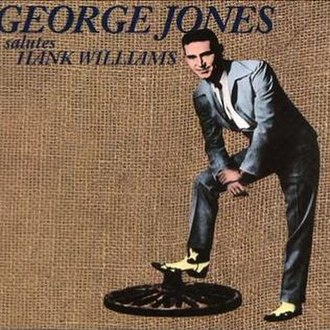 George Jones Salutes Hank Williams - Reissue cover